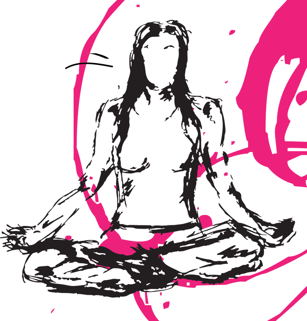 Illustrated self in meditation